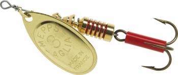 Блесна вращающаяся MEPPS Aglia № 4 цв. Gold в интернет магазине Rybaki.ru