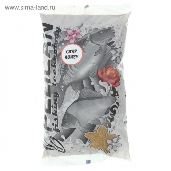 Прикормка PELICAN Карп Мед 1 кг в интернет магазине Rybaki.ru