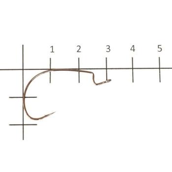 Офсетный крючок VARIVAS Hooking Master Versatile Finess № 1/0 (8 шт.)