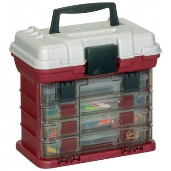 Ящик PLANO 1354-00 с 4 коробками и верхним отсеком для аксессуаров в интернет магазине Rybaki.ru