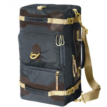 Сумка-рюкзак AQUATIC С-27ТС с кожаными накладками (цвет: темно-серый)