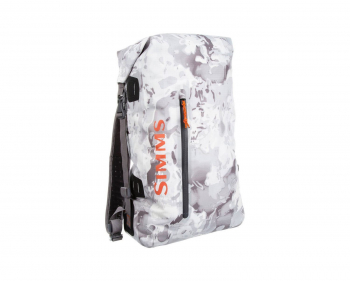 Герморюкзак SIMMS Dry Creek Simple Pack 25 л цв. Cloud Camo Grey в интернет магазине Rybaki.ru