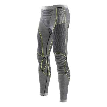 Кальсоны X-BIONIC Apani Merino By Man Uw Pants Long цвет Черный / Серый / Слоновая кость