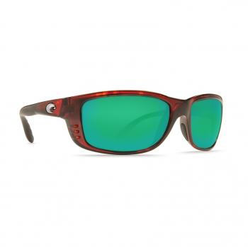 Очки поляризационные COSTA DEL MAR Zane 580P р. L цв. Tortoise цв. ст. Green Mirror