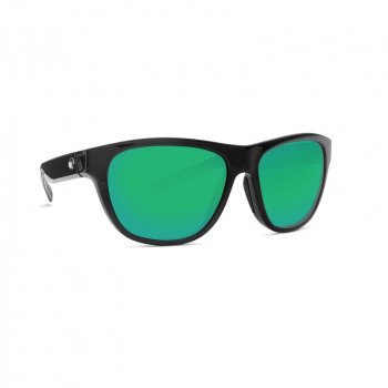 Очки поляризационные COSTA DEL MAR Bayside 580P р. M цв. Shiny Black цв. ст. Green Mirror