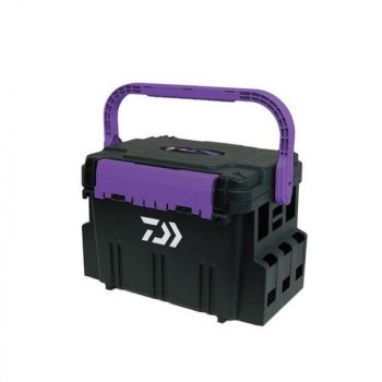 Ящик DAIWA Tackle Box TB5000 цв. Kyoga Purple / Black в интернет магазине Rybaki.ru