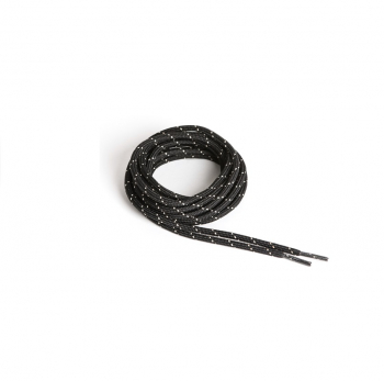 Шнурки AKU Rocky Round Mix цв. Black / Beige р. 140