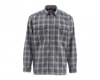 Рубашка SIMMS Coldweather LS Shirt цвет Black Plaid