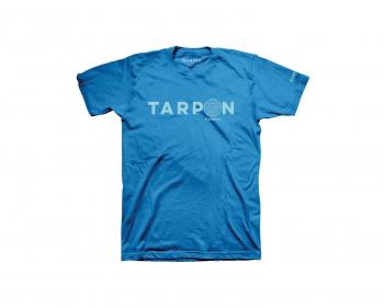 Футболка SIMMS Reel Tarpon T-Shirt цвет turquoise