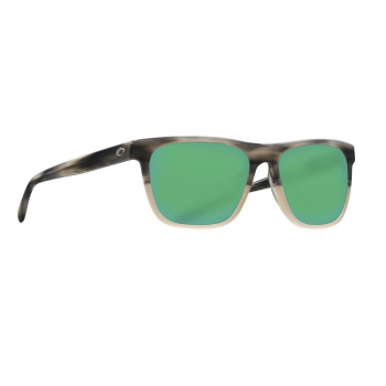 Очки поляризационные COSTA DEL MAR Apalach 580G р. XL цв. Shiny Sand Dollar цв. ст. Green Mirror