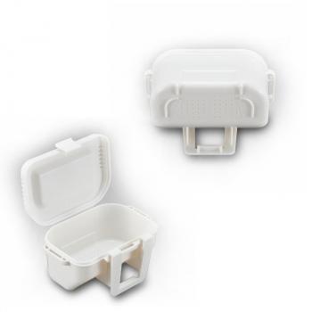 Коробка MEIHO #99 Bait Box цв. белый в интернет магазине Rybaki.ru