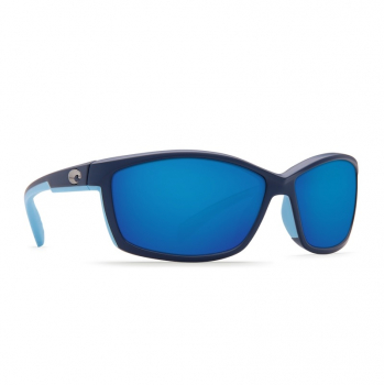 Очки поляризационные COSTA DEL MAR Manta W580 р. M цв. Matte Heron цв. ст. Blue Mirror Glass