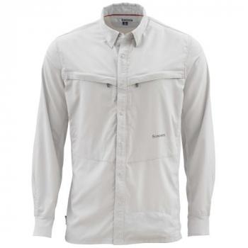 Рубашка SIMMS Bugstopper LS Shirt цвет Ash
