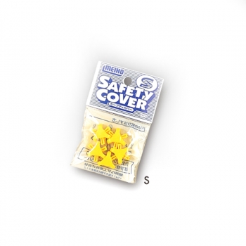 Защита для крючка MEIHO Safety Cover S (9 шт.) цв. желтый в интернет магазине Rybaki.ru