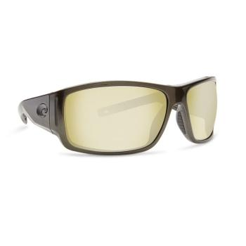 Очки COSTA DEL MAR Cape 580 P р. XL цв. Shiny Steel Gray Metallic цв. ст. Sunrise Silver Mirror