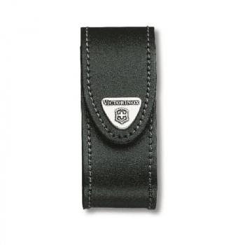 Чехол VICTORINOX для ножа 111 мм Leather Belt Pouch нат.кожа клипс.мет.пов. черный без упаковки