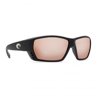 Очки поляризационные COSTA DEL MAR Tuna Alley 580G р. L цв. Matte Black цв. ст. Copper Silver Mirror