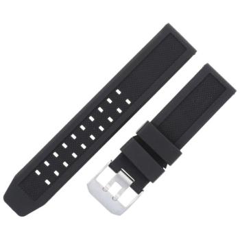 Ремешок LUMINOX полиуретановый для часов 3050 цв. черный/стальной