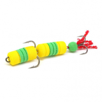 Мандула LEX Premium Creative 70 D13 желтый / зеленый / желтый в интернет магазине Rybaki.ru