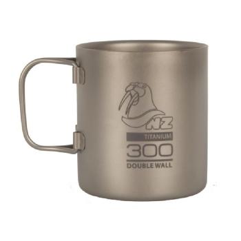Термокружка NOVAYA ZEMLYA Ti Double Wall Mug (титан) 300 мл