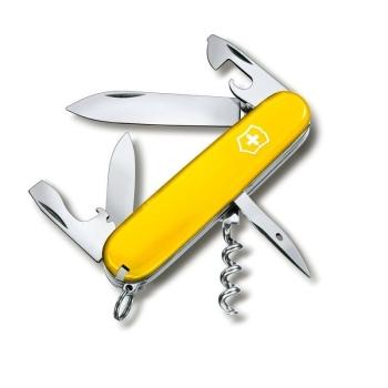 Нож VICTORINOX Spartan желтый 12 функций 91 мм карт.коробка
