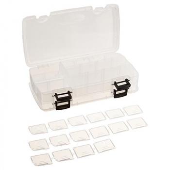 Коробка PLANO 3500-22 Коробка двухсторонняя для приманок 9-23 отсеков в интернет магазине Rybaki.ru