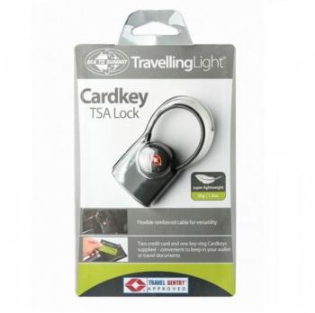 Замок SEA TO SUMMIT TSA Travel Lock - Cardkey цв. Серый