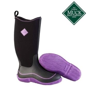 Сапоги MUCKBOOT Womens Hale цвет Черный / Пурпурный