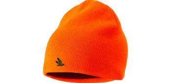 Шапка SEELAND Ian Reversible beanie цвет Hi-vis orange / Pine green