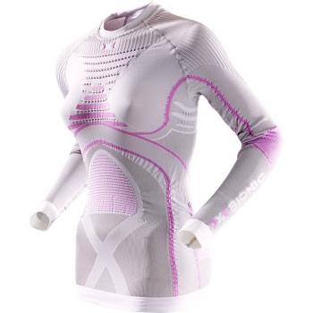 Термофутболка X-BIONIC Lady Radiactor Evo Uw Shirt Long Sleeve цвет Серебрянный / Фуксия