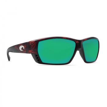 Очки поляризационные COSTA DEL MAR Tuna Alley 580P р. L Global Fit цв. Tortoise цв. ст. Green Mirror