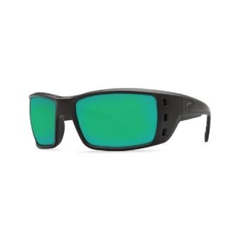 Очки COSTA DEL MAR Permit 580 P р. XL цв. Blackout цв. ст. Green Mirror
