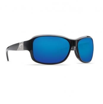 Очки поляризационные COSTA DEL MAR Inlet 580P C-Mate 1.50 р. M цв. Shiny Black цв. ст. Blue Mirror