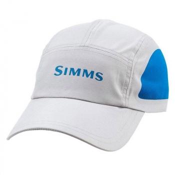 Кепка SIMMS Microfiber Short Bill Cap цв. Grey в интернет магазине Rybaki.ru