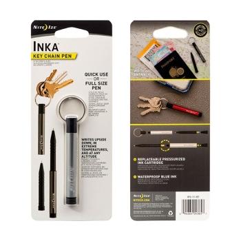 Ручка алюминиевая NITE IZE Inka цв. серый