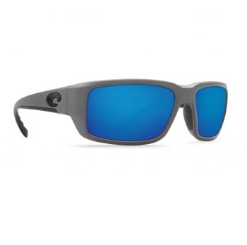 Очки поляризационные COSTA DEL MAR Fantail W580 р. M цв. Matte Gray цв. ст. Blue Mirror Glass