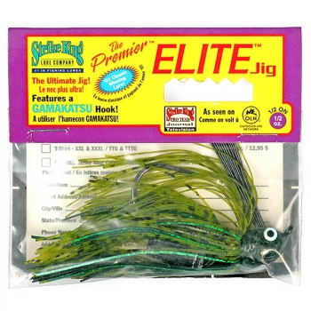 Бактейл STRIKE KING Premier Elite Jig 14 г (1/2 oz) цв. watermelon flash