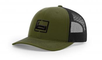 Бейсболка BANDED Trucker Loden Snapback Cap цв. Loden/Black в интернет магазине Rybaki.ru