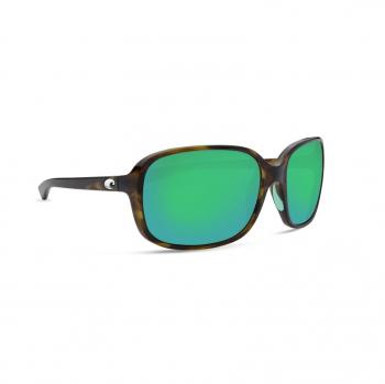 Очки поляризационные COSTA DEL MAR Riverton 580G р. S цв. Sand Tortoise цв. ст. Green Mirror