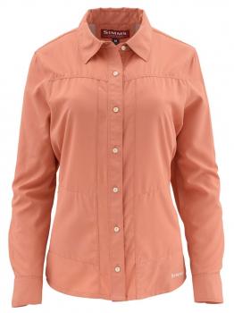 Рубашка SIMMS WS Isle LS Shirt цвет Light Coral