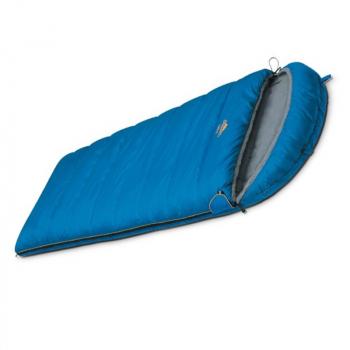 Спальный мешок ALEXIKA Comet 2° одеяло левый цв. синий в интернет магазине Rybaki.ru