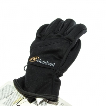 Перчатки детские CLOUDVEIL Kid'S Traverse Windstop Glove цвет Black