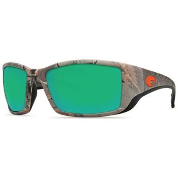 Очки COSTA DEL MAR Blackfin 400 GLS цв. Realtree Xtra Camo цв. ст. Green Mirror