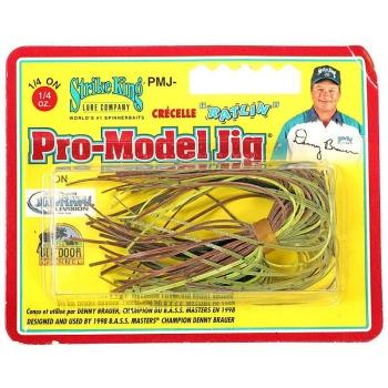 Бактейл STRIKE KING Pro-Model Jig 7 г (1/4 oz) цв. green crayfish