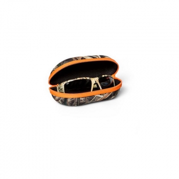 Чехол для очков COSTA DEL MAR Camo Sunglass Case цв. Mossy Oak Shadow Grass Blades Camo/Orange в интернет магазине Rybaki.ru