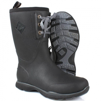 Сапоги MUCKBOOT Arctic Excursion Lace Mid цвет черный