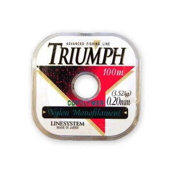 Леска LINE SYSTEM Triumph Pure 0,14 мм в интернет магазине Rybaki.ru
