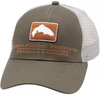 Кепка SIMMS Small Fit Trout Icon Trucker цв. Canteen