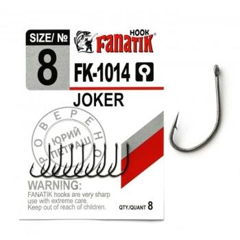 Крючок одинарный FANATIK FK-1014 Joker № 10 (8 шт.)