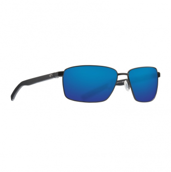 Очки поляризационные COSTA DEL MAR Ponce 580P р. L цв. Matte Black цв. ст. Blue Mirror